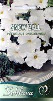 Darželinės petunijos Snow Ball