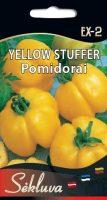 Valgomieji pomidorai Yellow Stuffer